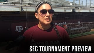 Softball: SEC Tournament Preview | Evans, Russell, Vidales 5.8.18
