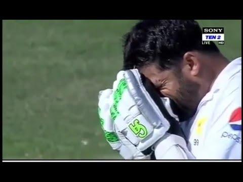 Azhar Ali last emotional moment pakistan vs new Zealand day 4 highlights