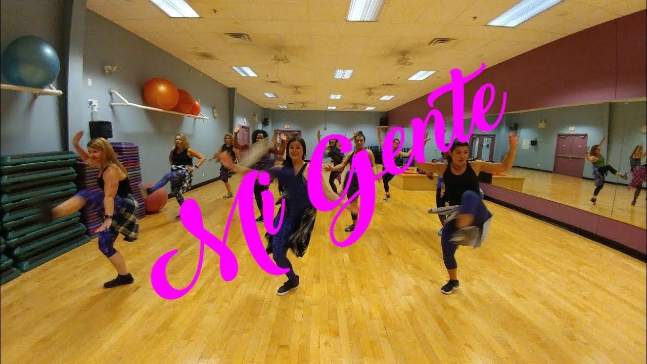 Mi Gente By J Balvin Willy William Dance Fitness Choreography Ashley Jabs