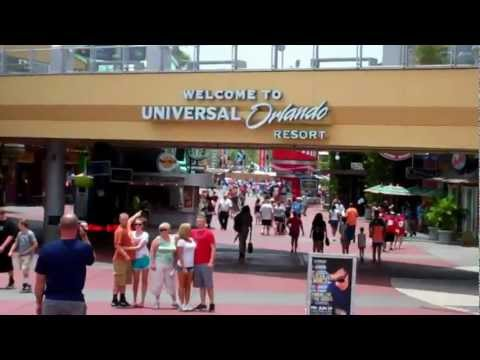 Universal Studios Florida and Islands of Adventure Wait Times May 30th 2012