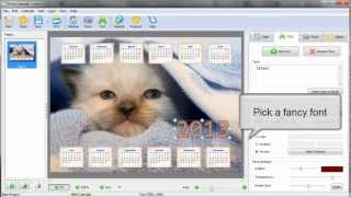 Photo Calendar Maker -- 2013(Designing a beautiful calendar with your own pictures has never been so easy! Visit http://photo-calendar-software.com to download the latest software for ..., 2012-08-17T16:11:20.000Z)