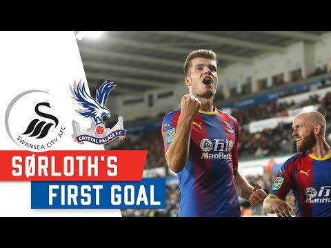Alexander Sørloth | First Crystal Palace Goal