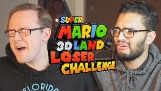 Super Mario 3D Land Let's Race - Loser Challenge!