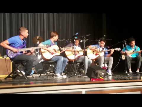 5/13/15 Green Valley Middle School Guitar concert