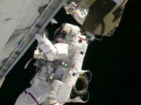 Astronauts' spacesuits cause problems as repairs are finished on ISS
