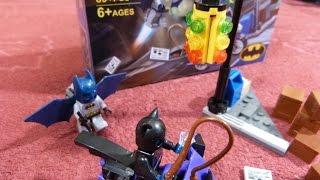 Lego образный конструктор Super Heroes Batman & Catwoman от Bozhi Сборка