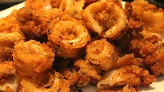 How To Make Crispy Fried Squid