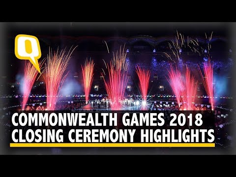 Highlights of the 2018 Commonwealth Games Closing Ceremony | The Quint