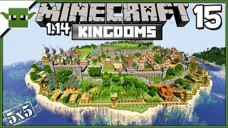 Minecraft 1.14 Medieval Island Kingdom Lets Build S2E15 - Docks