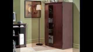 South Shore Morgan Collection Storage Cabinet; Storage Cabinets Wood, Kitchen Storage Cabinet