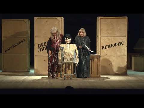 "Александр Журбин ""Чайка"" на сцене Хабаровского краевого музыкального театра."