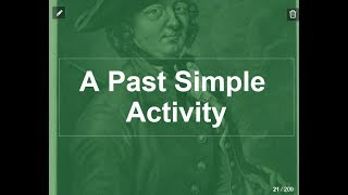 The Past Simple - a lesson, a story, an activity
