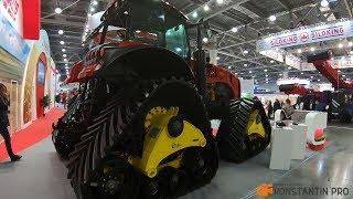 Чудо трактор! Троссовый манипулятор Галич-150. Агросалон 2018 Москва, 2-я часть