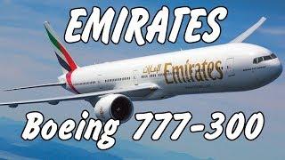 Смотреть видео Boeing 777-300 Emirates. DXB-MOW. Перелет Дубаи - Москва с ребенком. онлайн