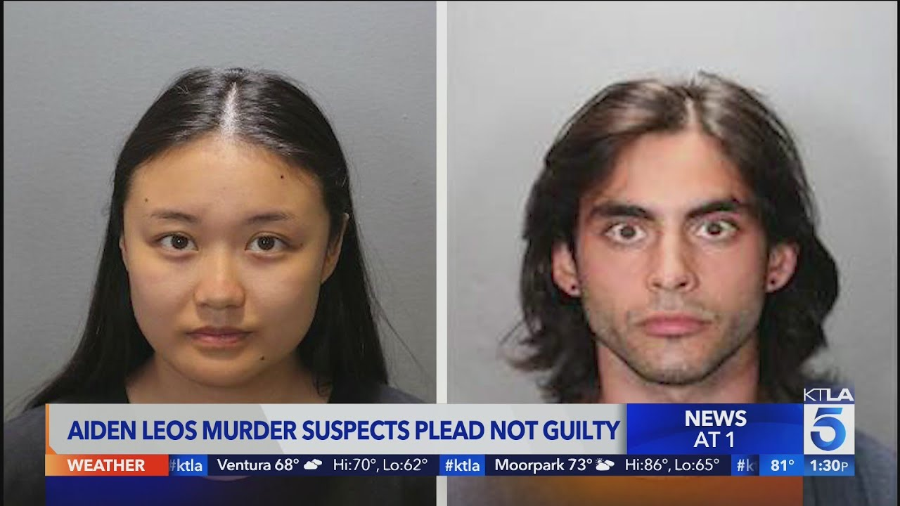 Suspects charged in road rage shooting death of Aiden Leos plead not guilty; man held without bail