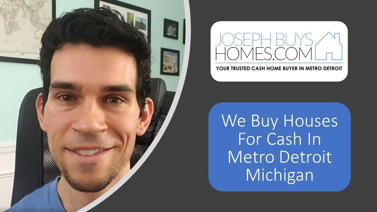 We Buy Houses For Cash In Metro Detroit Michigan | CALL 586.991.3237 | We Buy Houses Fast Detroit