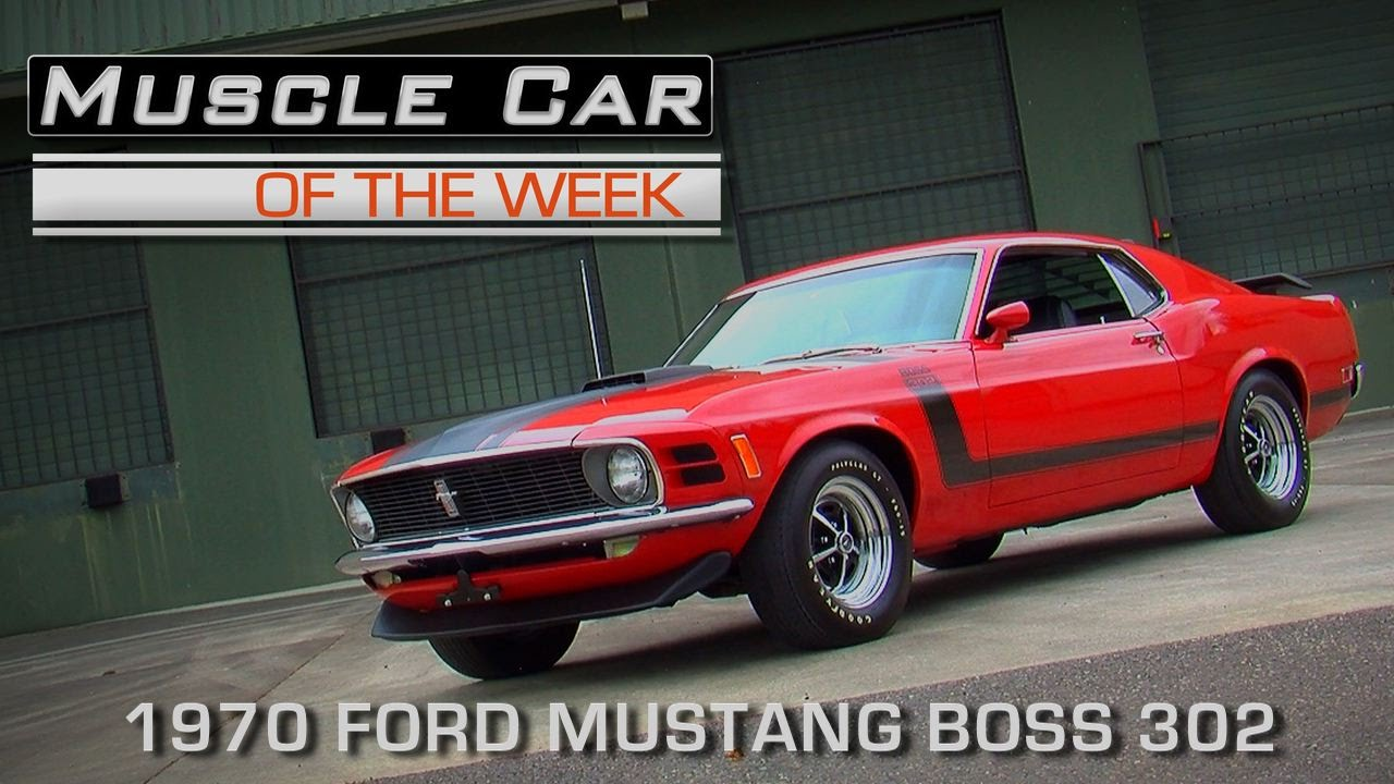 Muscle Car Of The Week Video Episode Ford Mustang Boss