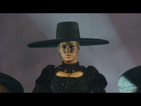 Beyoncé - Formation (Opening) (Live Formation World Tour, Dusseldorf - Germany) Front Row HD