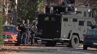 Suffolk Police in Stand off in Mastic