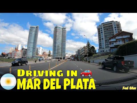 Driving in Mar del Plata (9 de Julio → Punta Mogotes)