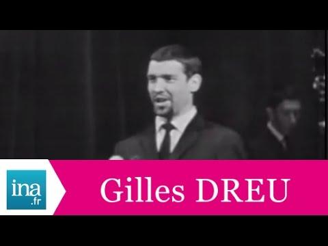 """Gilles Dreu """"Fille de Garches et enfant de Puteaux"""" (live officiel) - Archive INA"""
