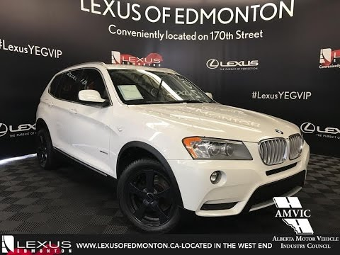 used white 2011 bmw x3 xdrive28i walkaround review. Black Bedroom Furniture Sets. Home Design Ideas