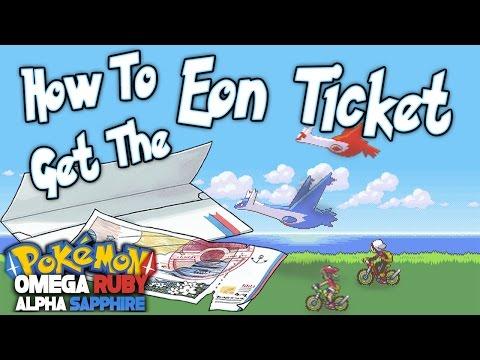 Pokemon ORAS - How To Get the Eon Ticket and MEGA Latias