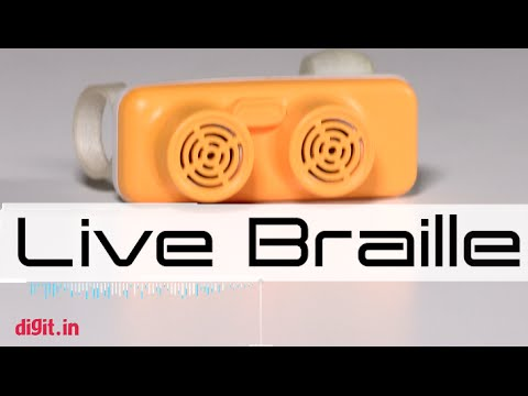 Live Braille: the world's smallest, lightest travel aid for the blind | Digit.in