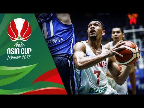 Highlights from Philippines v Korea in Slow Motion - Quarter Final - FIBA Asia Cup 2017