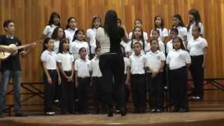 Niños Cantores de Villa de Cura - La Mónica Pérez, Coro Arcoiris.