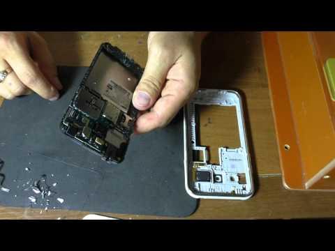 Samsung J100H разборка и замена сенсора