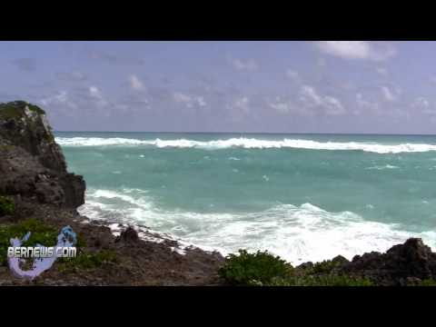 Hurricane Leslie Approach To Bermuda, Sept 6 2012