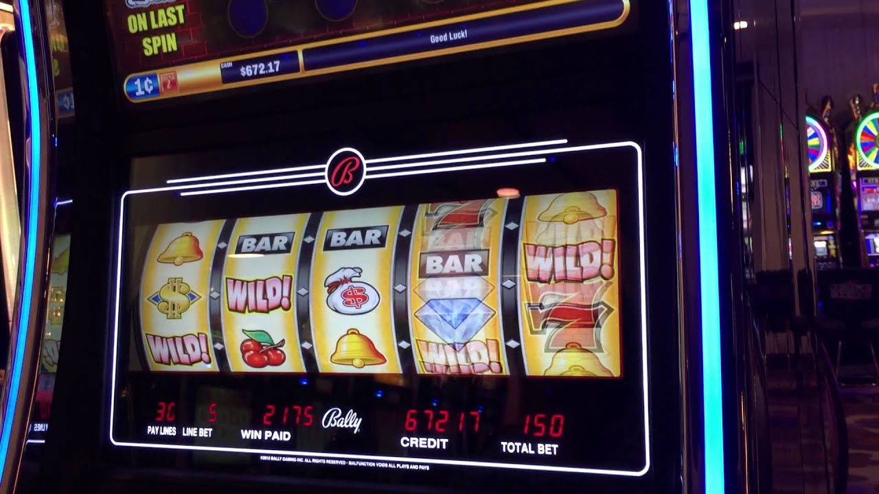 Slot machine jackpots 2011