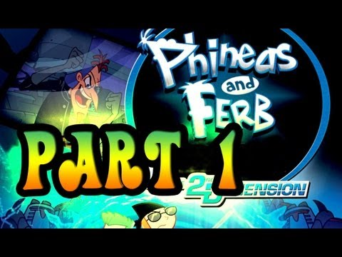 Phineas and Ferb: Across the 2nd Dimension Walkthrough (Wii)