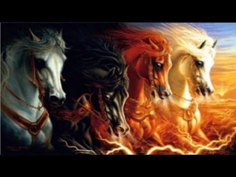 Revelation Chapter 6 - four horsemen of the apocalypse