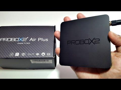 PROBOX2 AIR PLUS  4K Android TV Box Review