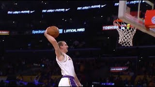 Alex Caruso Throws It Down And Staples Center Goes Crazy