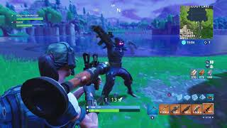 Fortnite glitch on playground mode with tlj628