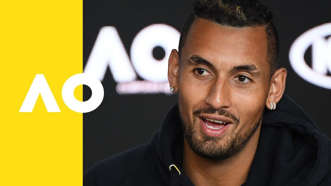 Nick Kyrgios press conference (1R) | Australian Open 2019 - YouTube
