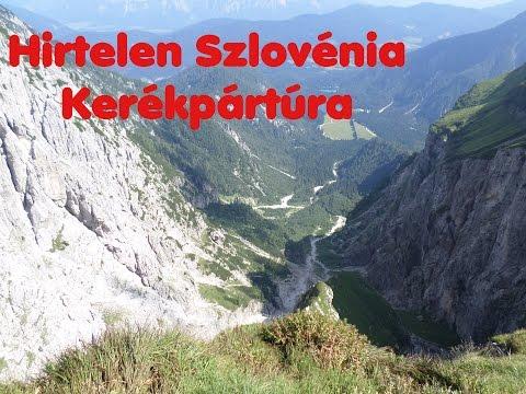 Hirtelen Szlovénia - Kétnapos kerékpáros túra