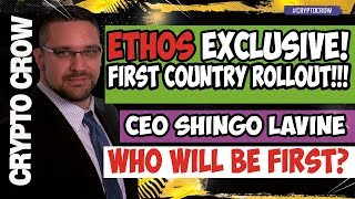 ETHOS Exclusive First Country Rollout with Shingo Lavine - Ethos Universal Wallet