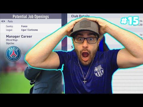 OMG PSG OFFER ME THE JOB! *BARCA FINALE* - FIFA 18 CAREER MODE BARCELONA #15