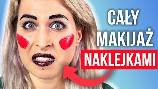 ♦ Challenge Makijaż Naklejkami! ♦ Agnieszka Grzelak Beauty