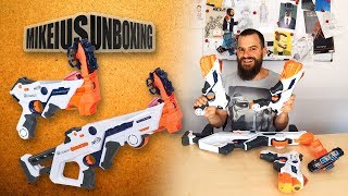Nerf Laser Ops - Mikeius Unboxing