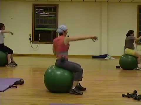 Total Body Physio Ball Workout