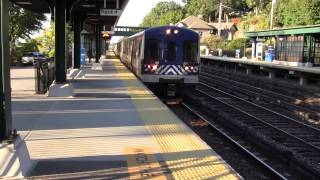 Metro-North and Amtrak Trains on the Hudson Line 9/27/14