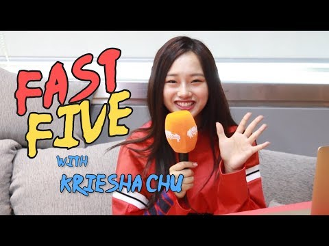 Fast Five with K-pop Superstar's Kriesha Chu