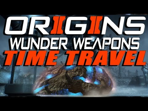 "Black Ops 2 ""Origins"" Zombies: TIME TRAVEL + ALL WUNDER WEAPONS! [BO2 Zombies Apocalypse]"