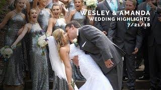 Wesley and Amanda Wedding Highlights - Pittsburgh Summer Wedding