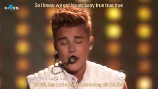 [Vietsub+Kara] As Long As You Love Me - Justin Bieber (Acoustic Version)